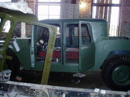 """Як на Франківщині зі старого ГАЗ-66 створили """"Hummer"""", фото-3"""