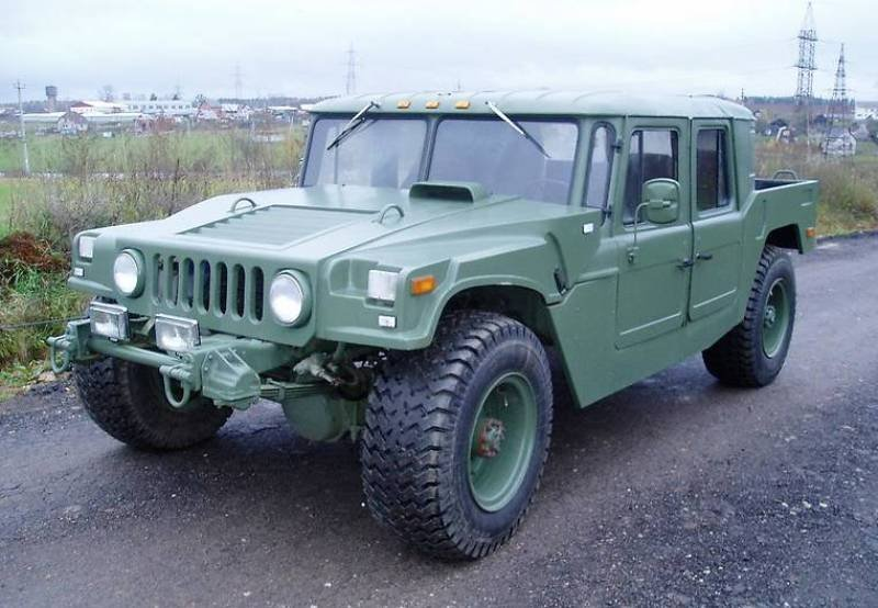 """Як на Франківщині зі старого ГАЗ-66 створили """"Hummer"""", фото-6"""