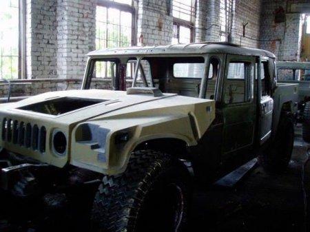 """Як на Франківщині зі старого ГАЗ-66 створили """"Hummer"""", фото-4"""