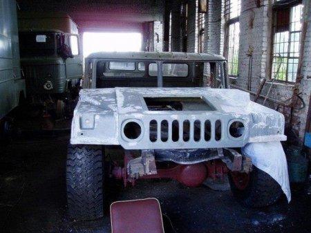"""Як на Франківщині зі старого ГАЗ-66 створили """"Hummer"""", фото-5"""