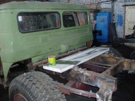 """Як на Франківщині зі старого ГАЗ-66 створили """"Hummer"""", фото-2"""