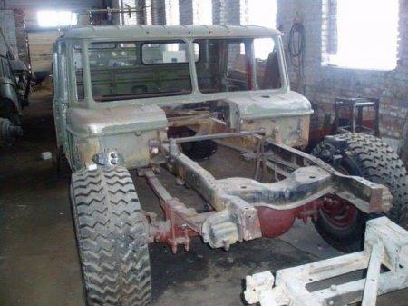 """Як на Франківщині зі старого ГАЗ-66 створили """"Hummer"""", фото-1"""