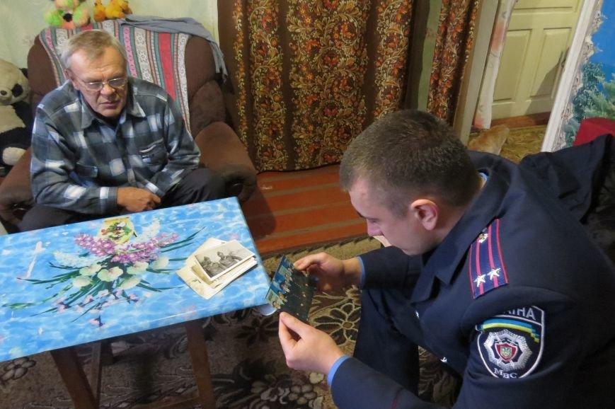 Руководство Димитровского отделения полиции почтило подвиг ветеранов-чернобыльцев (фото) - фото 5