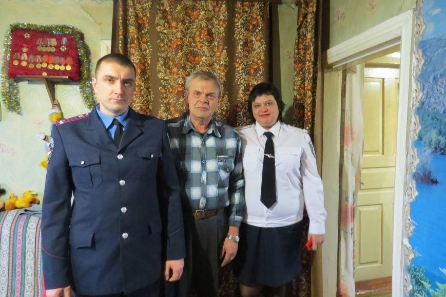Руководство Димитровского отделения полиции почтило подвиг ветеранов-чернобыльцев (фото) - фото 6
