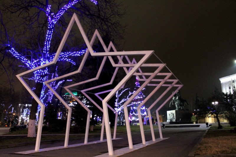 К Новому году в Ростове