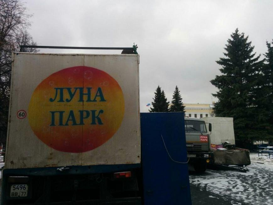 На главной площади Ульяновска под Новый год заработают аттракционы, фото-3