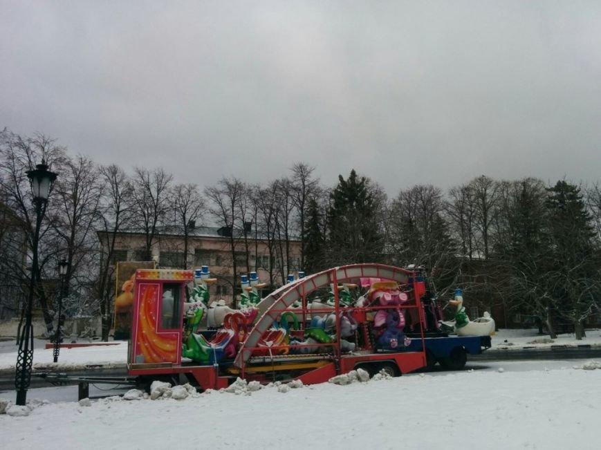 На главной площади Ульяновска под Новый год заработают аттракционы, фото-2
