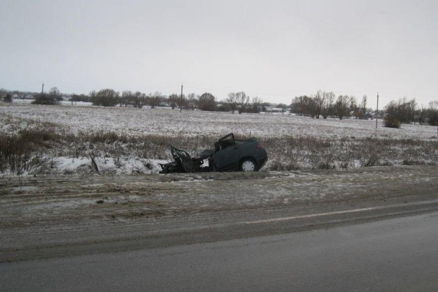 В Белгородской области в ДТП погиб 19-летний водитель и пострадала восьмимесячная девочка (фото) - фото 1