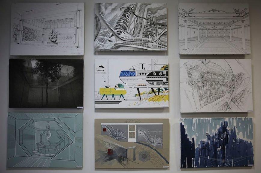 В ПГУ показали, каким видят Новополоцк будущие архитеторы и дизайнеры (фото) - фото 5