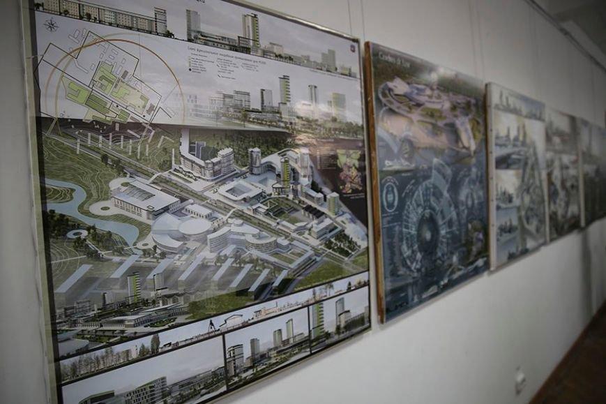 В ПГУ показали, каким видят Новополоцк будущие архитеторы и дизайнеры (фото) - фото 2