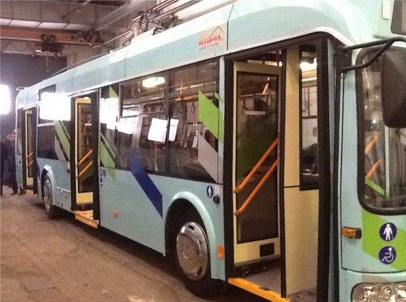 В Ульяновск доставили первые бесконтактные троллейбусы (фото) - фото 1