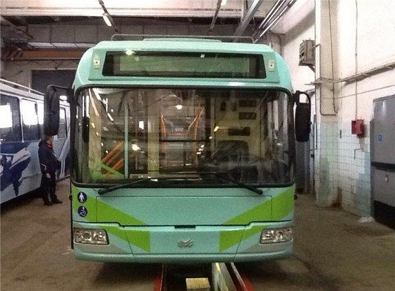 В Ульяновск доставили первые бесконтактные троллейбусы, фото-2