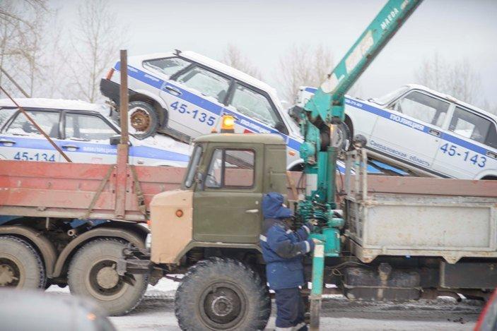 Полевскую полицию отправили в утилизацию (фотофакт) (фото) - фото 1