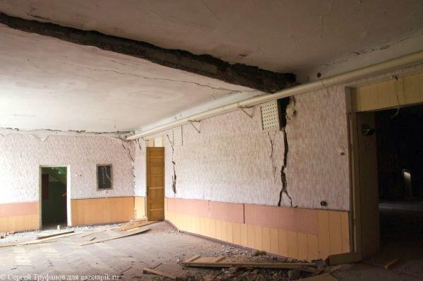 В Каменске-Шахтинском рухнул Дом офицеров (фото) - фото 1