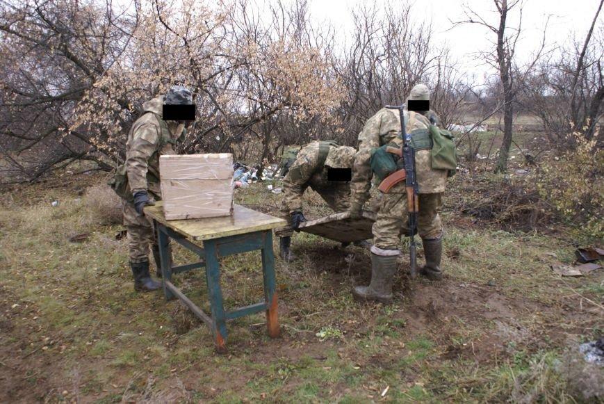 На месте гибели криворожан, экипажа 17-й танковой бригады, волонтеры установили мемориальный знак (ФОТО), фото-12