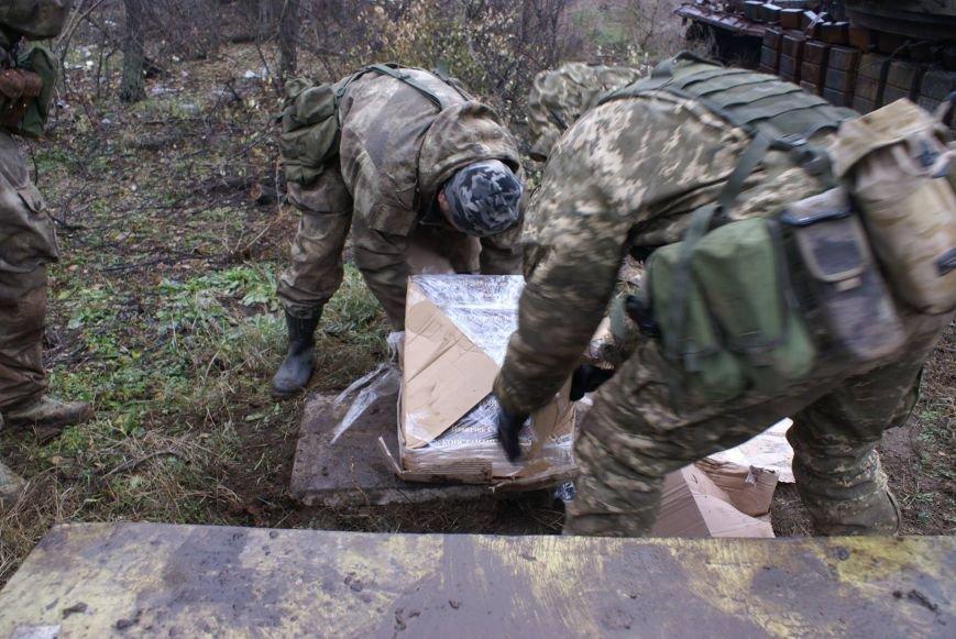На месте гибели криворожан, экипажа 17-й танковой бригады, волонтеры установили мемориальный знак (ФОТО), фото-10