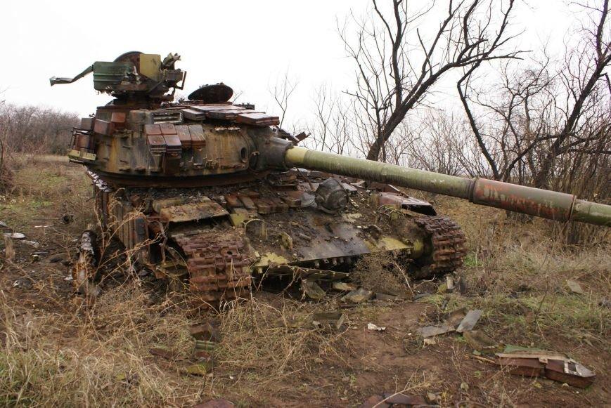 На месте гибели криворожан, экипажа 17-й танковой бригады, волонтеры установили мемориальный знак (ФОТО), фото-16