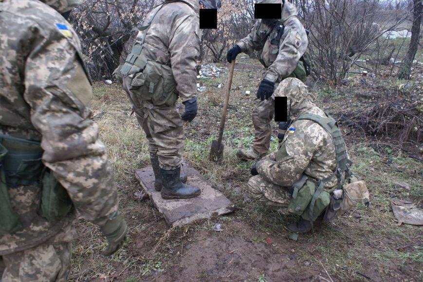 На месте гибели криворожан, экипажа 17-й танковой бригады, волонтеры установили мемориальный знак (ФОТО), фото-11
