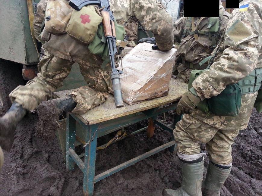 На месте гибели криворожан, экипажа 17-й танковой бригады, волонтеры установили мемориальный знак (ФОТО), фото-13