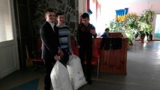 Новогодние подарки для участников АТО от Новоградской гимназии, фото-8