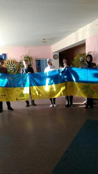 Новогодние подарки для участников АТО от Новоградской гимназии, фото-2