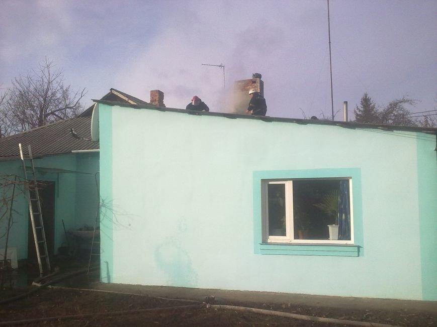 На Кіровоградщині через несправність пічного опалення виникла пожежа (ФОТО) (фото) - фото 1