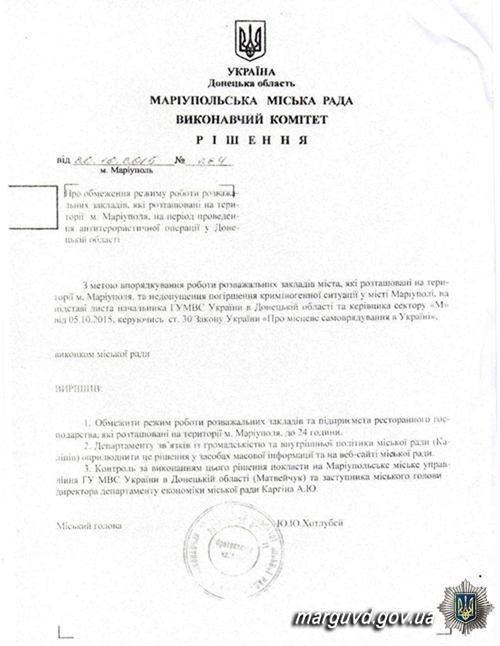 Полицейские Мариуполя закрыли забегаловку на Левобережье, фото-1