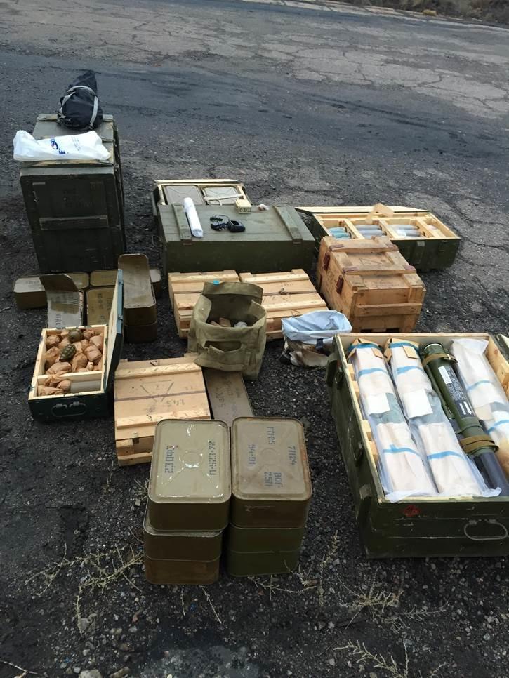 В Луганской области обнаружили тайник с гранатометами и боеприпасами(ФОТО) (фото) - фото 2