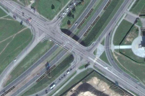 В Гродно на путепроводе проспектов Купалы и Клецкова изменят светофорное регулирование (фото) - фото 1