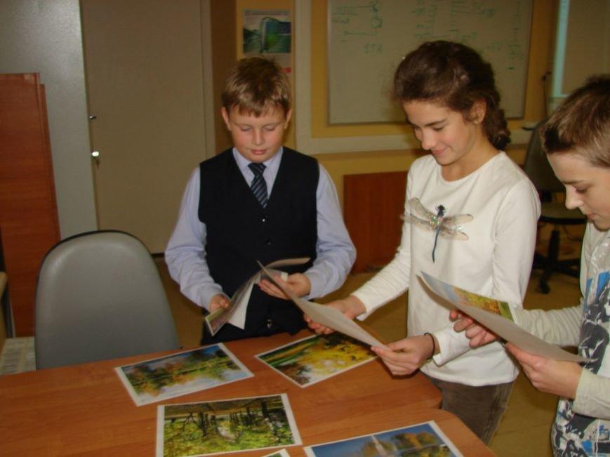 Юные пушкинцы создали патриотический сайт и нарисовали пейзаж виртуальной кистью (фото) - фото 1