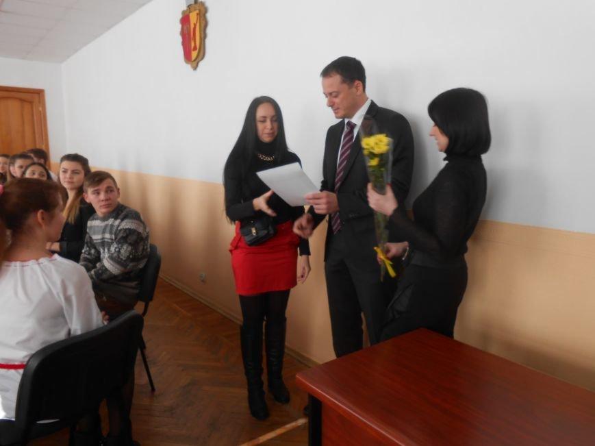 В Днепродзержинске состоялась встреча городского головы с Молодежным советом города (фото) - фото 1