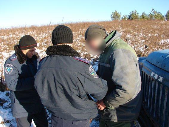 На Сумщине активизировались «новогодние» браконьеры (ФОТО) (фото) - фото 1