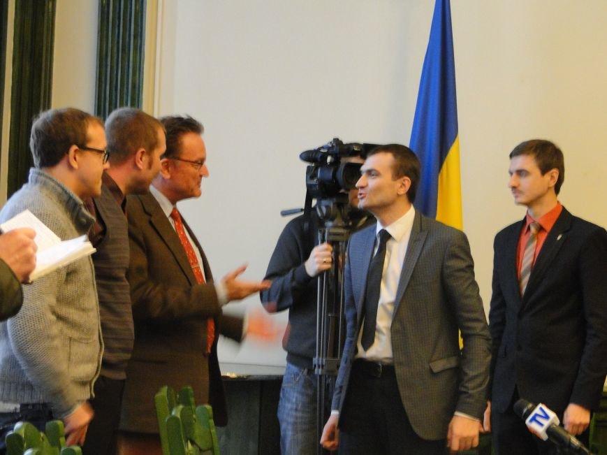До Хмельницького з візитом ввічливості завітали німецькі інвестори (Фото, Відео) (фото) - фото 1