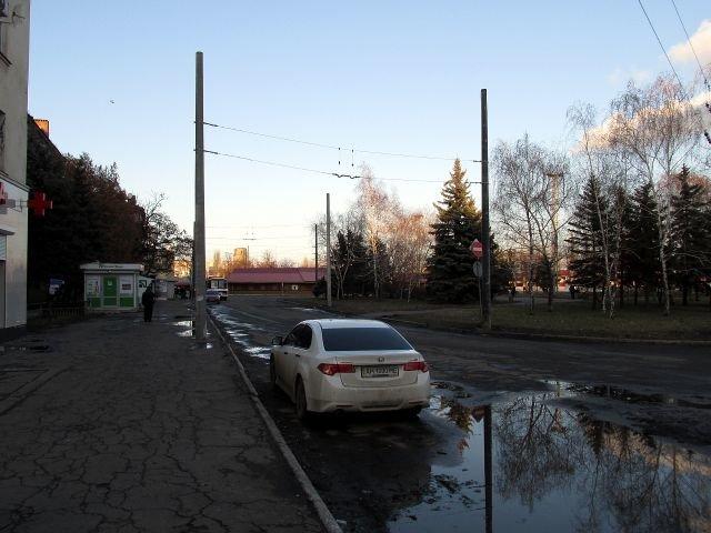 Как идет строительство троллейбусной линии в Старый город (ФОТО), фото-22