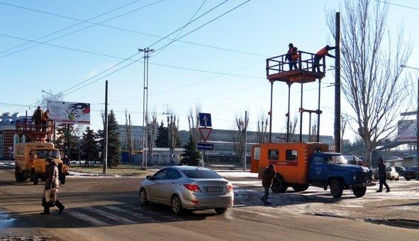 Как идет строительство троллейбусной линии в Старый город (ФОТО) (фото) - фото 2