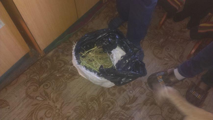 45-летний житель Димитрова разоблачен на хранении дома мешка конопли (фото) - фото 2