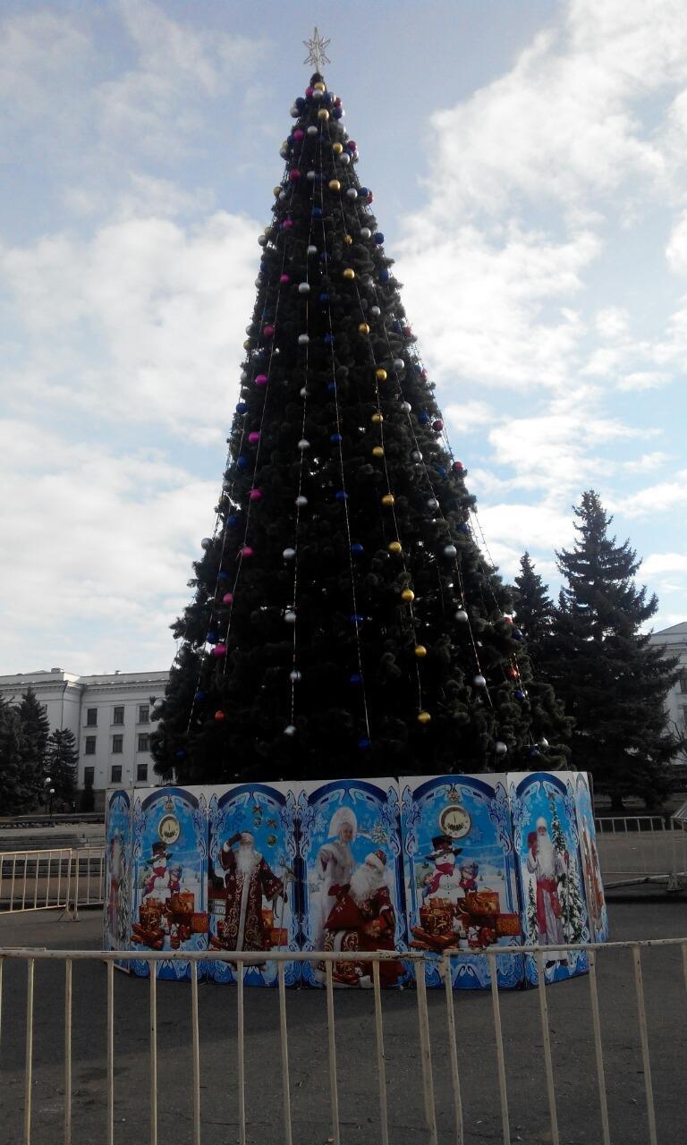 Сегодня в Краматорске торжественно откроют главную елку (фото) - фото 1