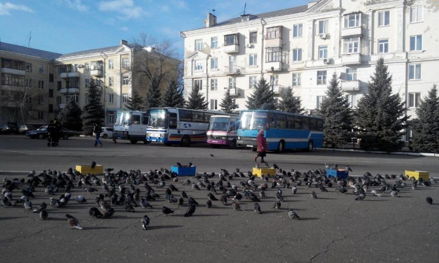 В Краматорске митингуют шахтеры (фото) - фото 4