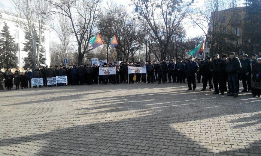 В Краматорске митингуют шахтеры (фото) - фото 3