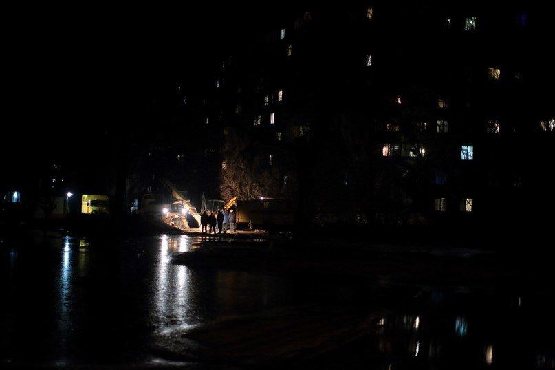 Жилмассив Коммунар уже сутки сидит без воды (фото) - фото 1