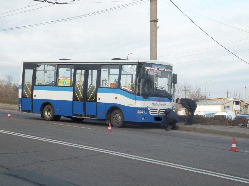 В Кировограде вовремя движения у автобуса отказали тормоза? (фото) - фото 1