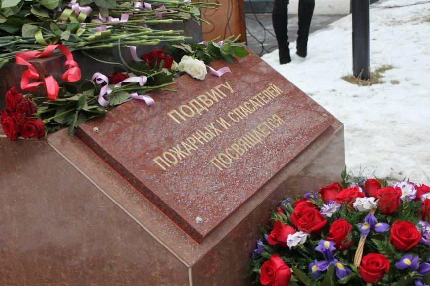 В Белгороде открыли памятник пожарным и спасателям, фото-7
