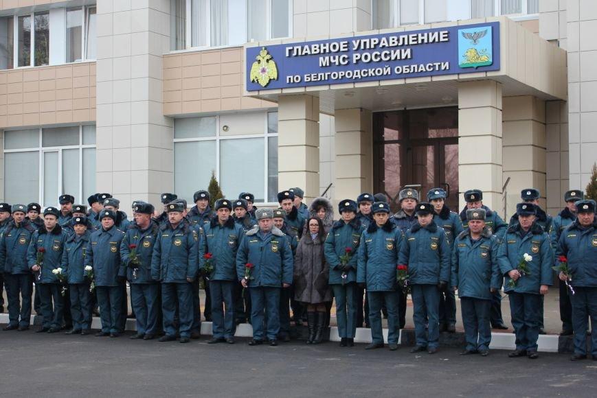 В Белгороде открыли памятник пожарным и спасателям, фото-1