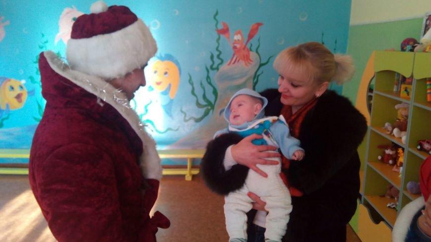 Криворожский противотуберкулезный центр посетил Святой Николай с подарками для малышей (ФОТО), фото-8