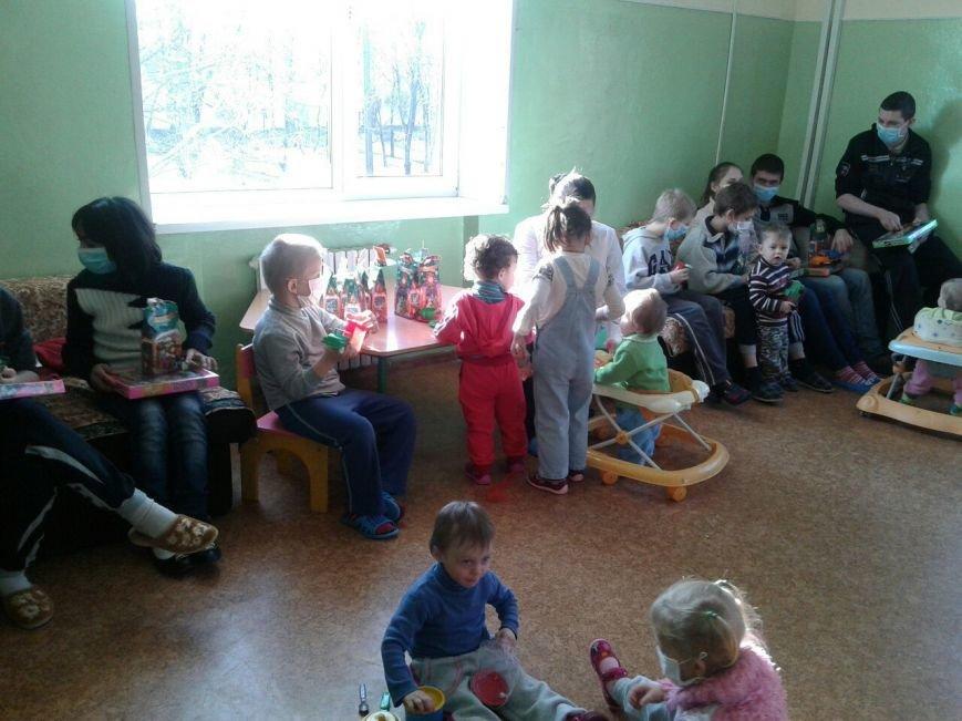 Криворожский противотуберкулезный центр посетил Святой Николай с подарками для малышей (ФОТО), фото-7