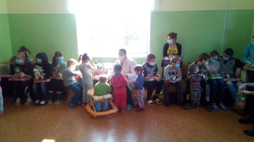 Криворожский противотуберкулезный центр посетил Святой Николай с подарками для малышей (ФОТО), фото-5