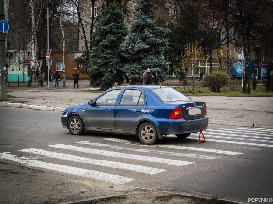 """В центре Кременчуга """"Джили"""" сбила пешехода на """"зебре"""" (ФОТО), фото-2"""