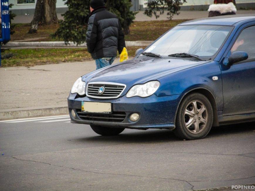 """В центре Кременчуга """"Джили"""" сбила пешехода на """"зебре"""" (ФОТО), фото-1"""