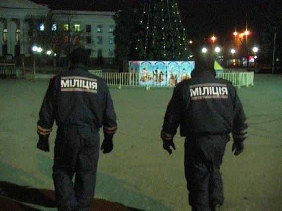 Краматорская полиция вышла на отработку территории (фото) - фото 1