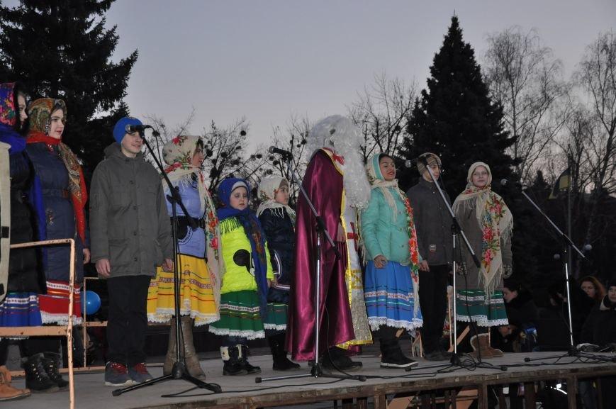 В Краматорске мэр зажег главную елку города (ВИДЕО), фото-2